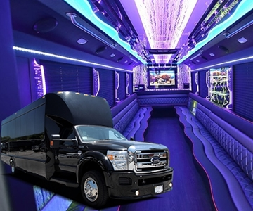 Exotic Party Bus